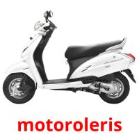 motoroleris picture flashcards