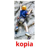 kopia picture flashcards
