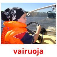 vairuoja picture flashcards