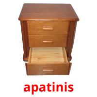 apatinis picture flashcards