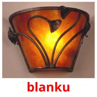 blanku picture flashcards