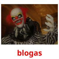 blogas picture flashcards