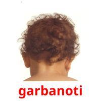 garbanoti picture flashcards
