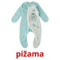 pižama picture flashcards