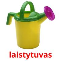 laistytuvas picture flashcards