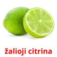 žalioji citrina picture flashcards
