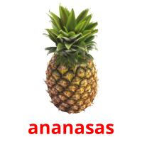 ananasas picture flashcards