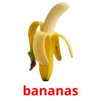 bananas picture flashcards