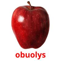 obuolys picture flashcards