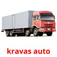 kravas auto picture flashcards