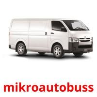 mikroautobuss picture flashcards