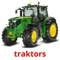 traktors picture flashcards