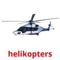 helikopters picture flashcards