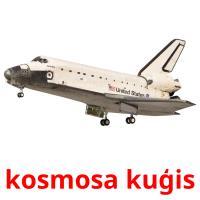 kosmosa kuģis picture flashcards