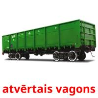atvērtais vagons picture flashcards