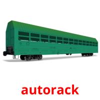 autorack picture flashcards