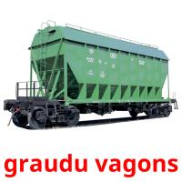 graudu vagons picture flashcards