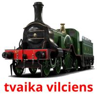 tvaika vilciens picture flashcards