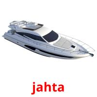 jahta picture flashcards