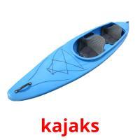 kajaks picture flashcards