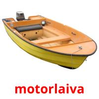 motorlaiva picture flashcards