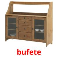 bufete picture flashcards