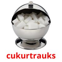 cukurtrauks picture flashcards