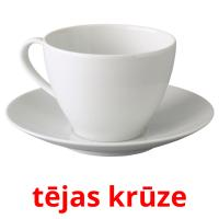 tējas krūze picture flashcards