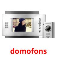 domofons picture flashcards