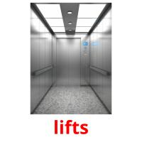 lifts picture flashcards