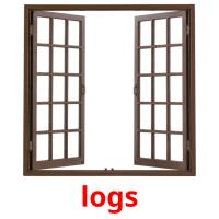 logs picture flashcards