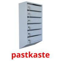 pastkaste picture flashcards
