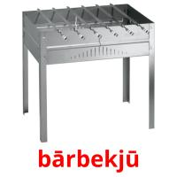 bārbekjū picture flashcards