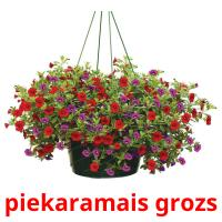 piekaramais grozs card for translate