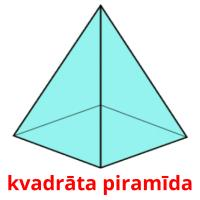 kvadrāta piramīda picture flashcards