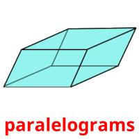 paralelograms picture flashcards