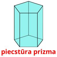 piecstūra prizma picture flashcards