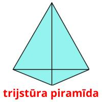 trijstūra piramīda picture flashcards
