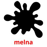 melna picture flashcards