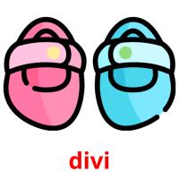 divi picture flashcards