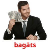 bagāts picture flashcards