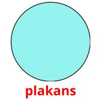 plakans picture flashcards