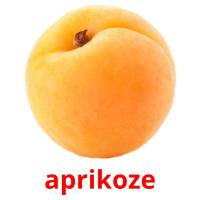 aprikoze picture flashcards