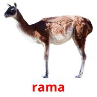 rama picture flashcards