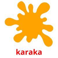 karaka picture flashcards