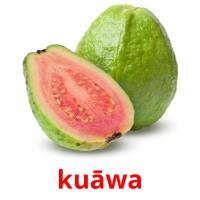 kuāwa picture flashcards