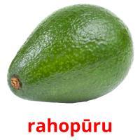 rahopūru picture flashcards