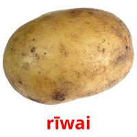 rīwai picture flashcards