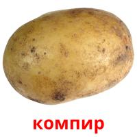 компир picture flashcards