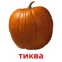 тиква picture flashcards